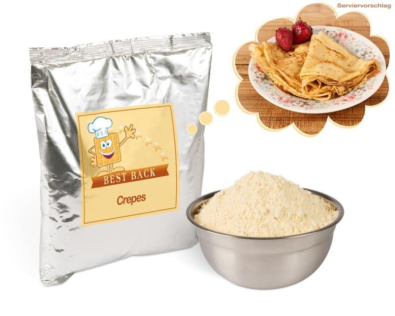 Backmischung für Crêpes (5x1kg) - Best-Back Vertrieb - einfach, schnell & vielfältig