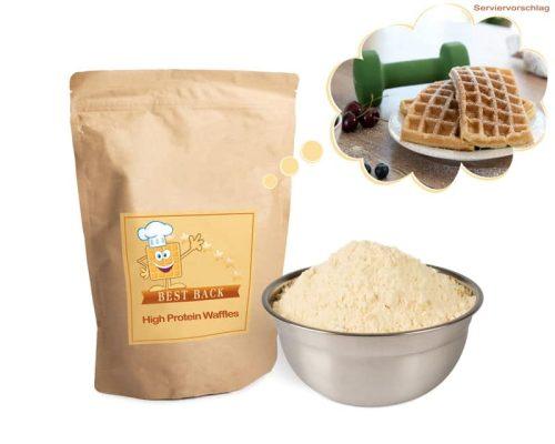 Backmischung für Proteinwaffeln & Pancakes - Best-Back Vertrieb - einfach, schnell & vielfältig